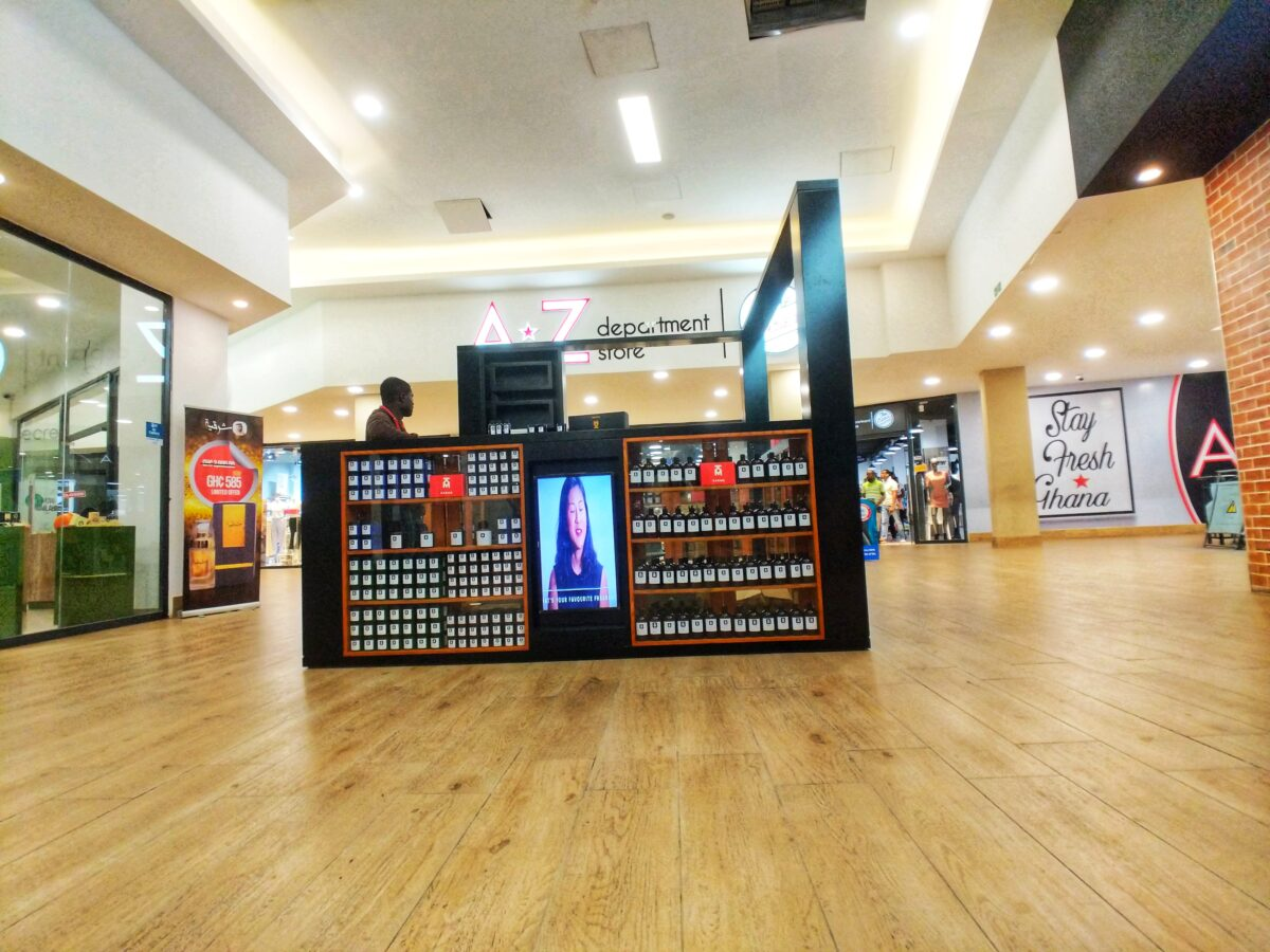 Kaeme Kiosk at Palace Mall, Spintext - Accra